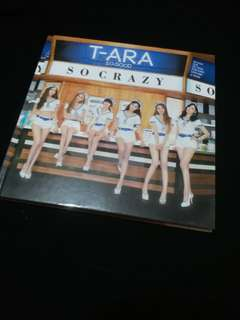 9成新 T-ara So Crazy 淨專