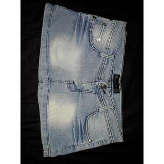 Rok jeans melar