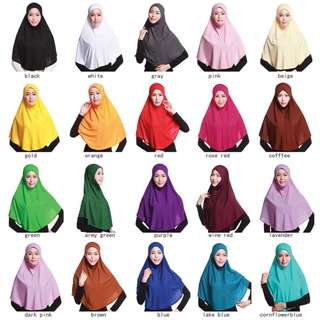 PO for instant tudung