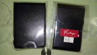 皮製名片盒 Professional Business card holder leather