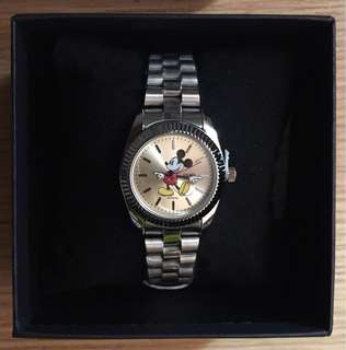 Disney/Mickey stainless watch/迪士尼/米奇手錶/鋼錶