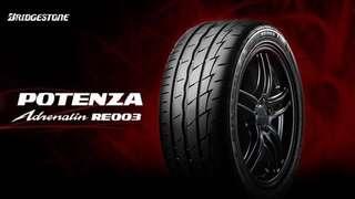 195-50-15 Bridgestone potenza re003