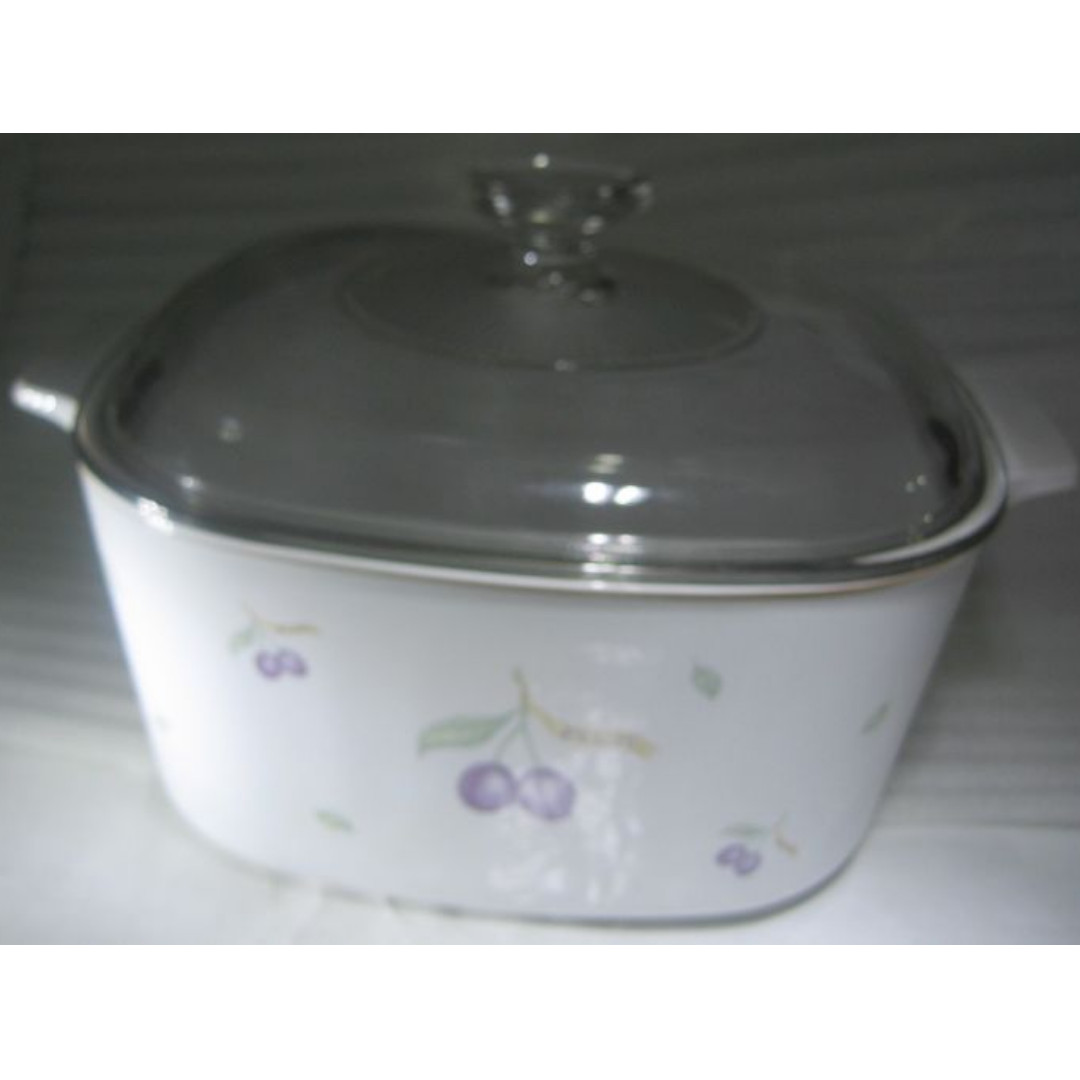 5l Corning Ware Casserole 24cm With Glass Lid Unused Home