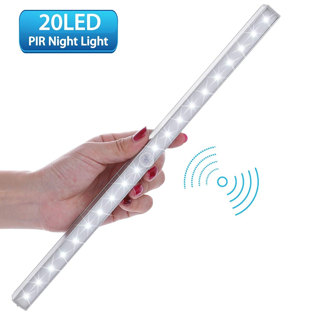 Used Night Lights Lofter Portable 20-led Wireless Motion Sensing Lamp Bar