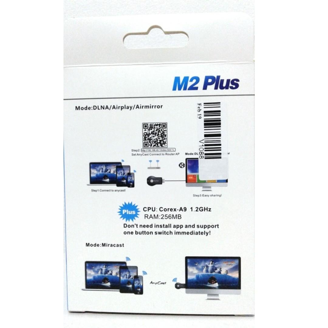 ANYCAST Miracast DLNA EZCast Airplay Wireless Display HDMI
