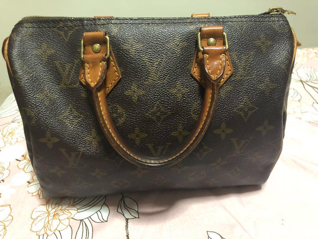 2f8786f35f Authentic Louis Vuitton speedy 25, Luxury, Bags & Wallets, Handbags ...