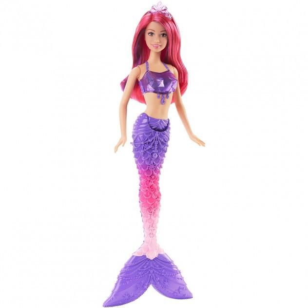 2017 Barbie Mermaid (Red Sparkle)