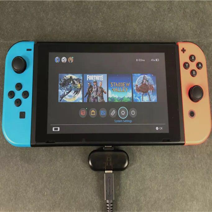 Bluetooth Transceiver for Nintendo Switch (Type-C