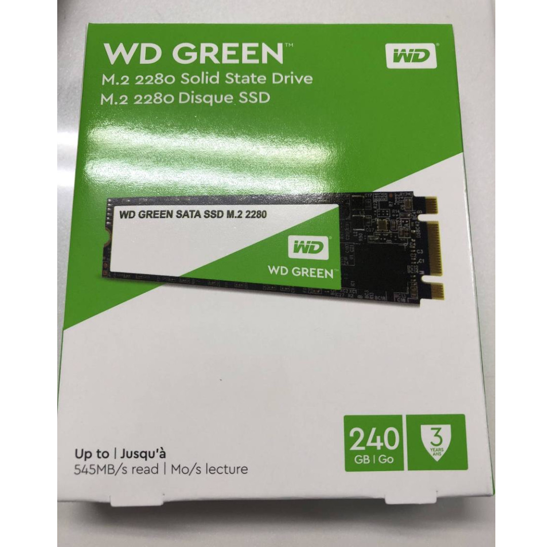 Western Digital Wd Green Ssd 240gb 25 Sata Cek Harga Terkini Dan Bnib M2 2280 Internal Solid State Drive Model Wds240g1g0b