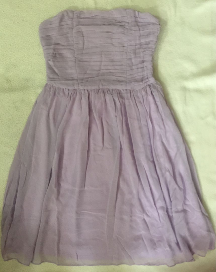 785803758de BNWT Love Bonito Bridesmaids Tube Dress In Lavender