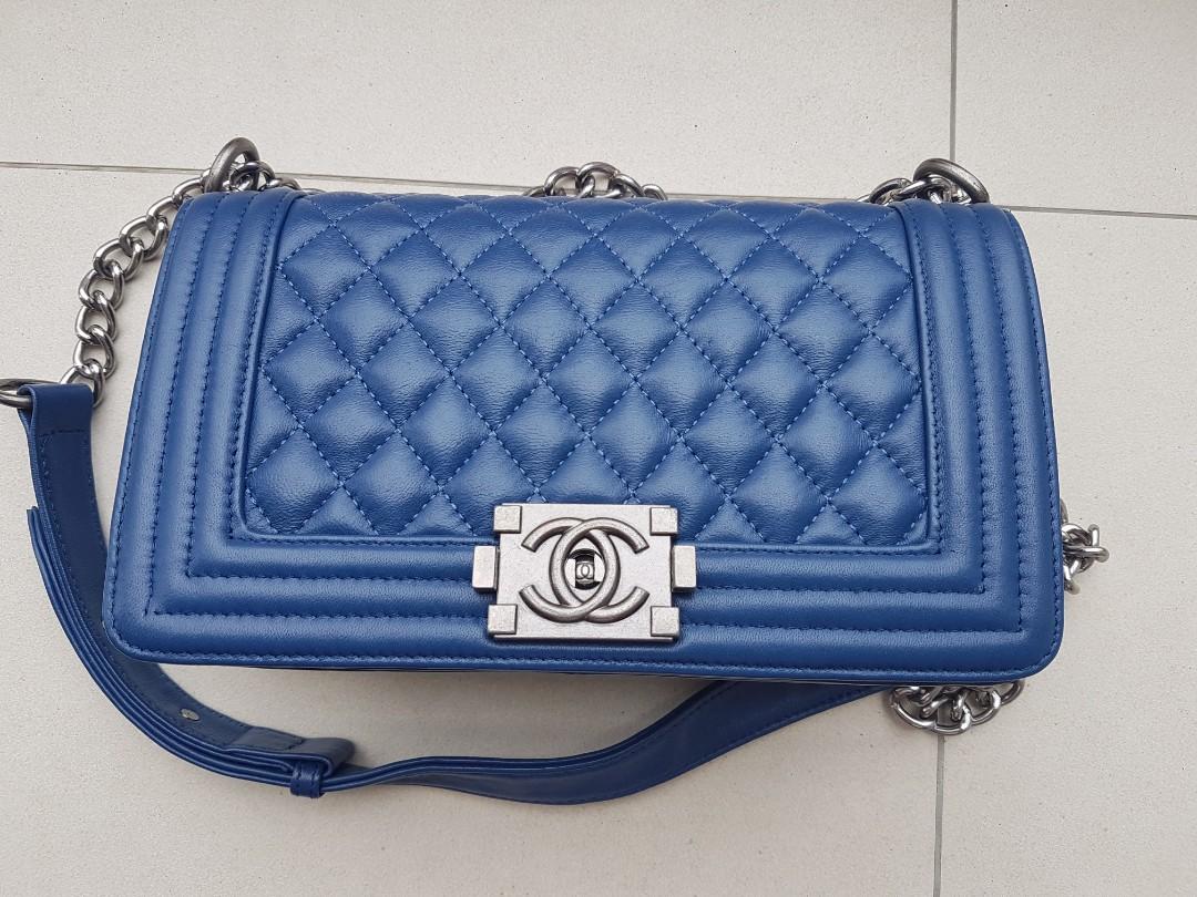 cb179fafd Chanel Leboy handbag, Women's Fashion, Bags & Wallets, Handbags on ...
