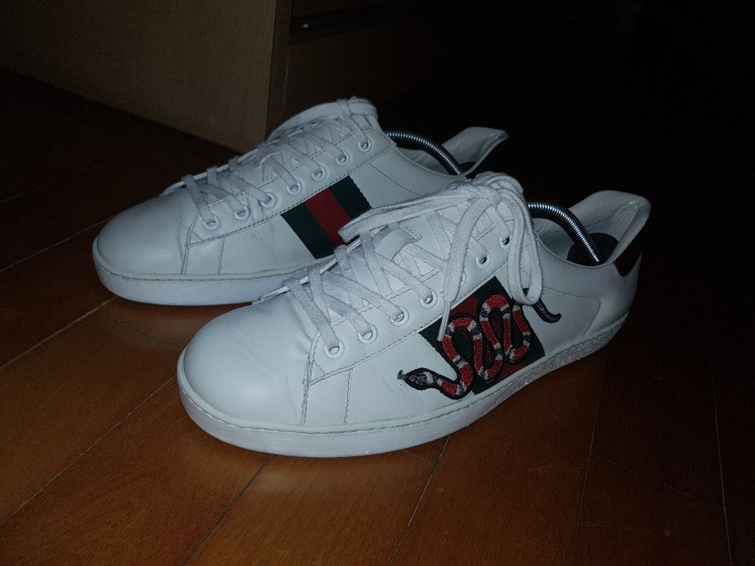 95bd1be53b88 Gucci Ace Snake Sneakers