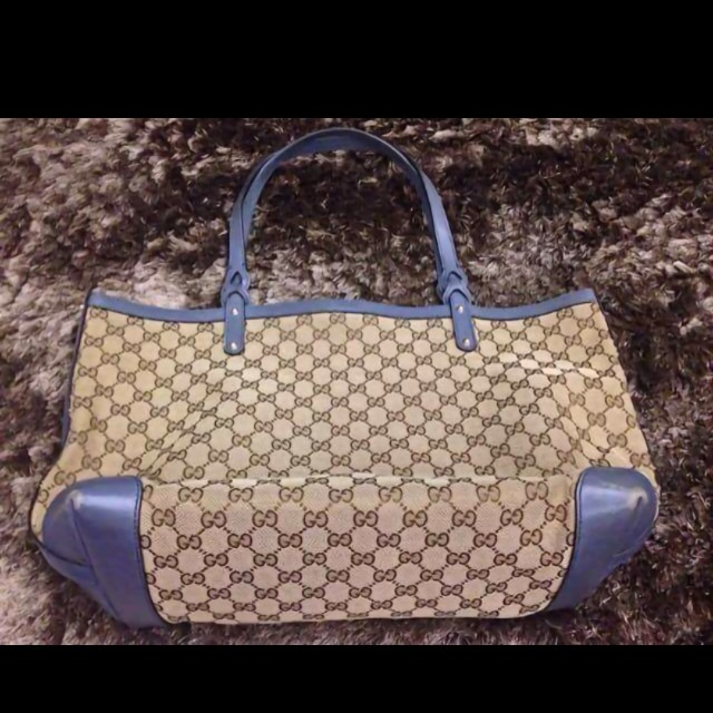 bb343fd5546 authentic gucci marrakech + gucci neverfull + coach wallet new ...