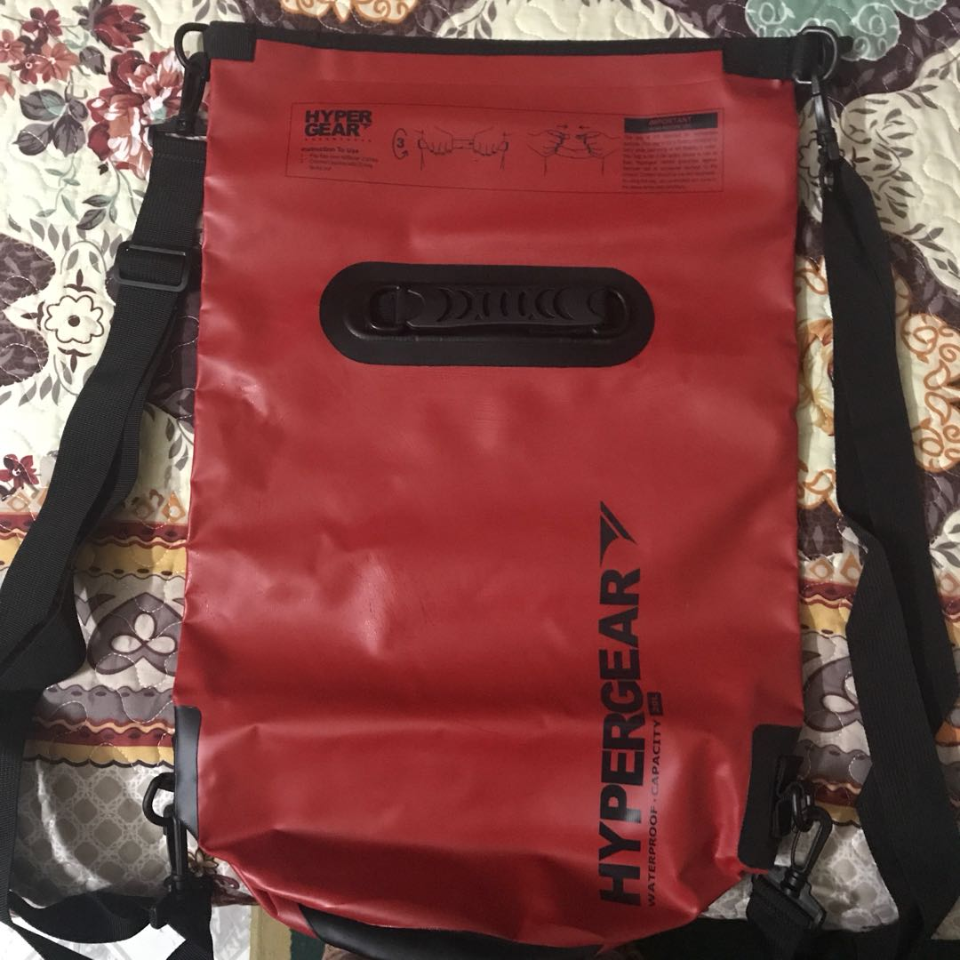 6cc0f260db6 Hypergear Adventure Dry Bag Water Resistant 20 Litre - RED