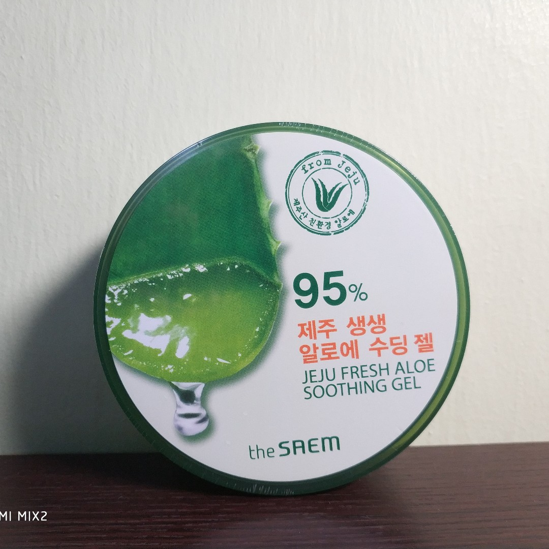 In Stock Jeju Fresh Aloe Soothing Gel From The Saem Health Beauty Shooting Face Skin Care On Carousell