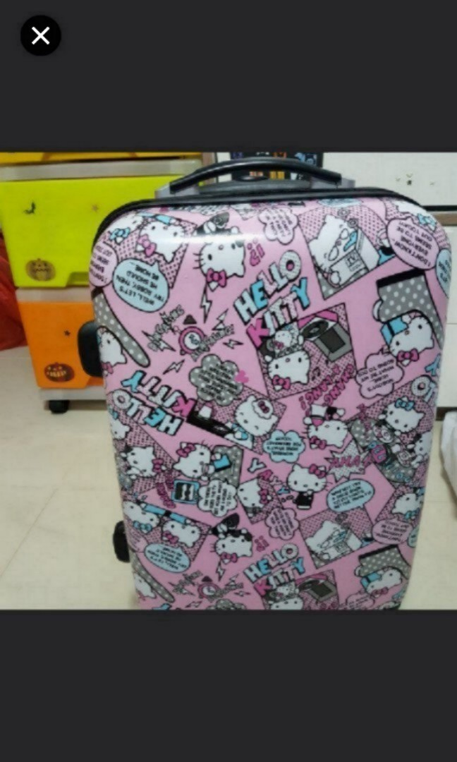e15083ef0 Limited Edition Hello Kitty Cabin Luggage 20 Inch, Travel, Travel ...