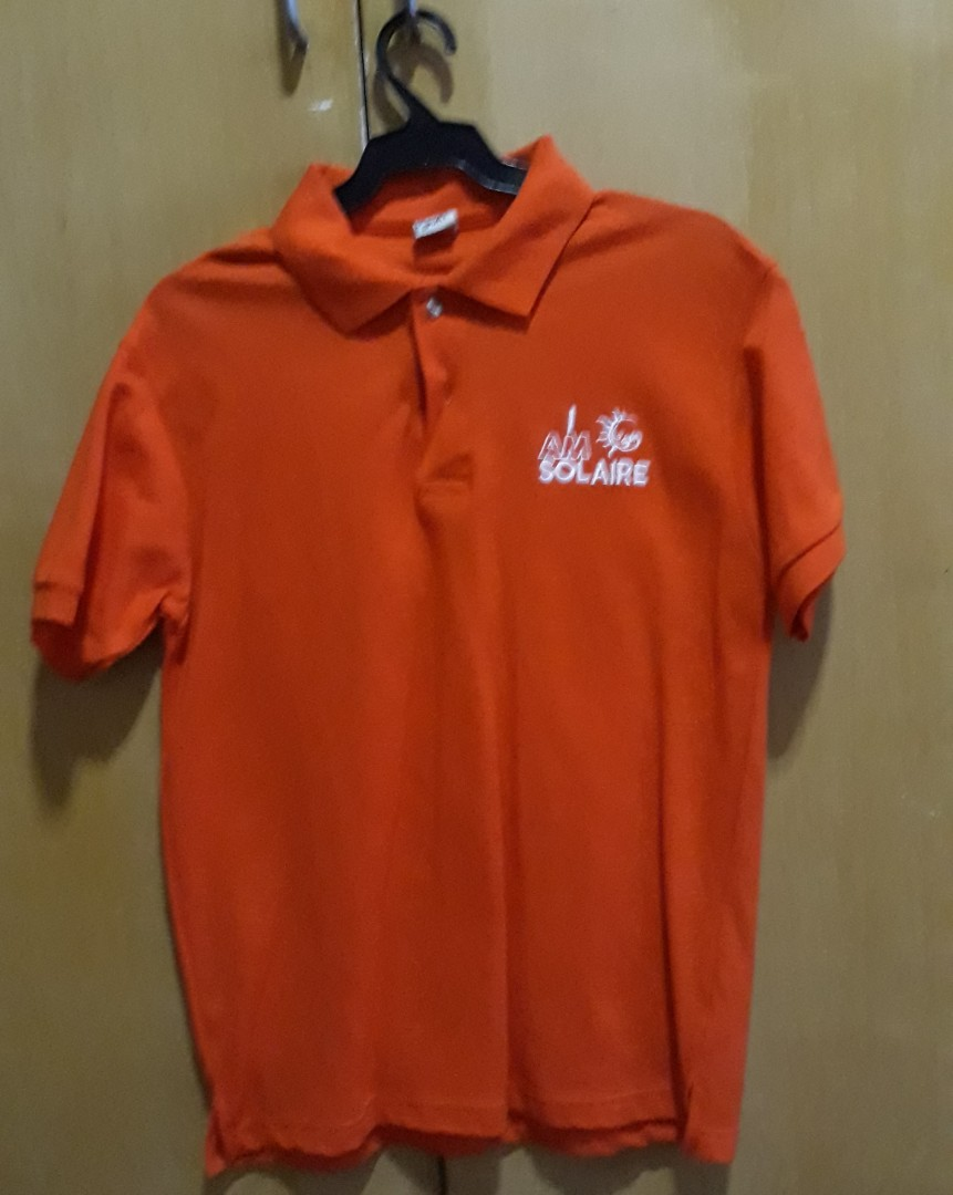 Limited Edition I Am Solaire Mens Polo Shirt Size Small Mens