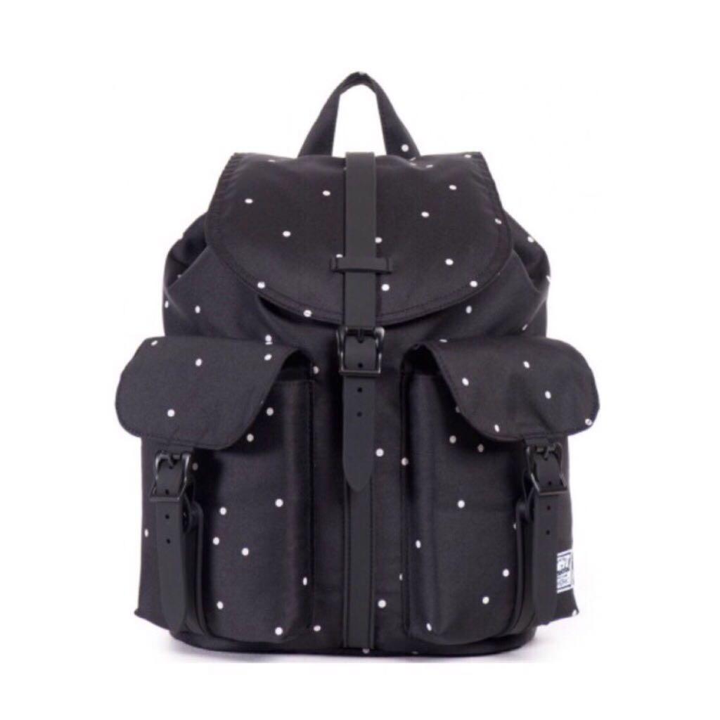 d3f9ad92f5d Instock  Herschel Mini Size Dawson Backpack 13L – Polka Dot