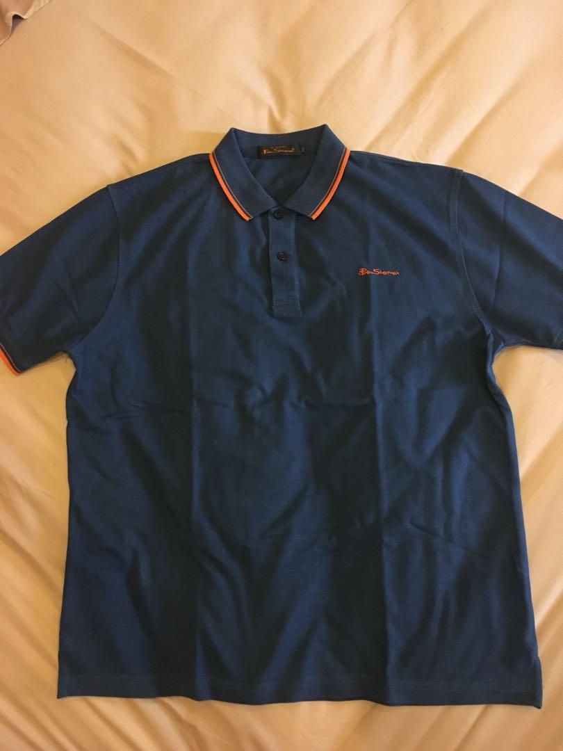 37fe3c15 mausupreme Dark Blue Polo Shirt Ben Sherman, Men's Fashion, Men's ...