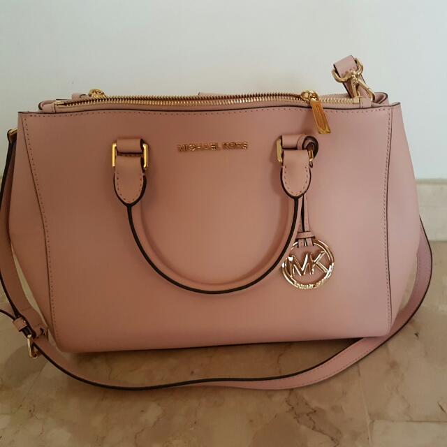 Michael Kors Light Pink Handbag Women