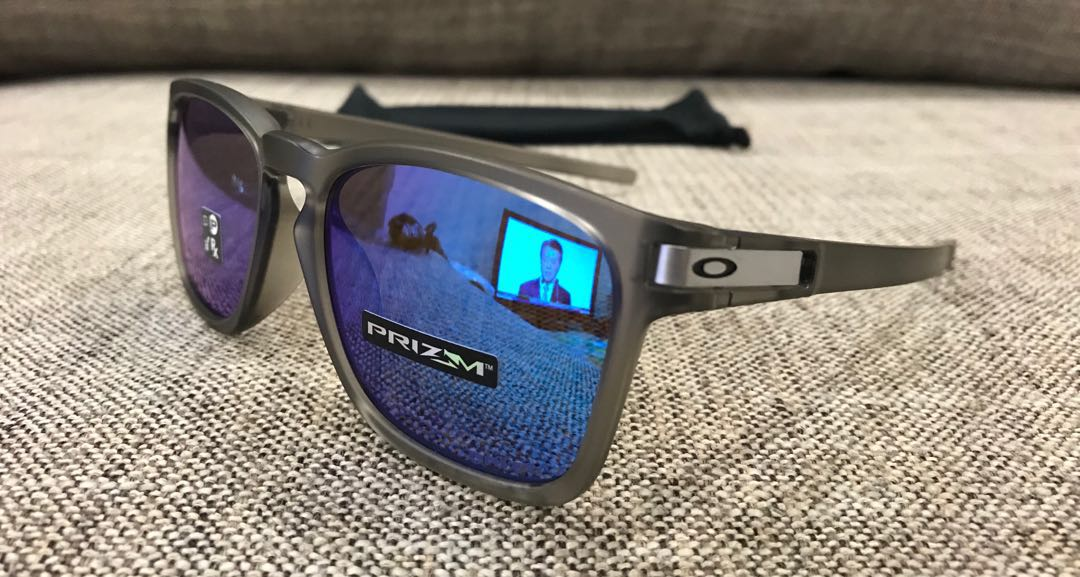 921f529dff Oakley™ LATCH SQ Asian Fit (Grey Ink Prizm Sapphire Iridium ...