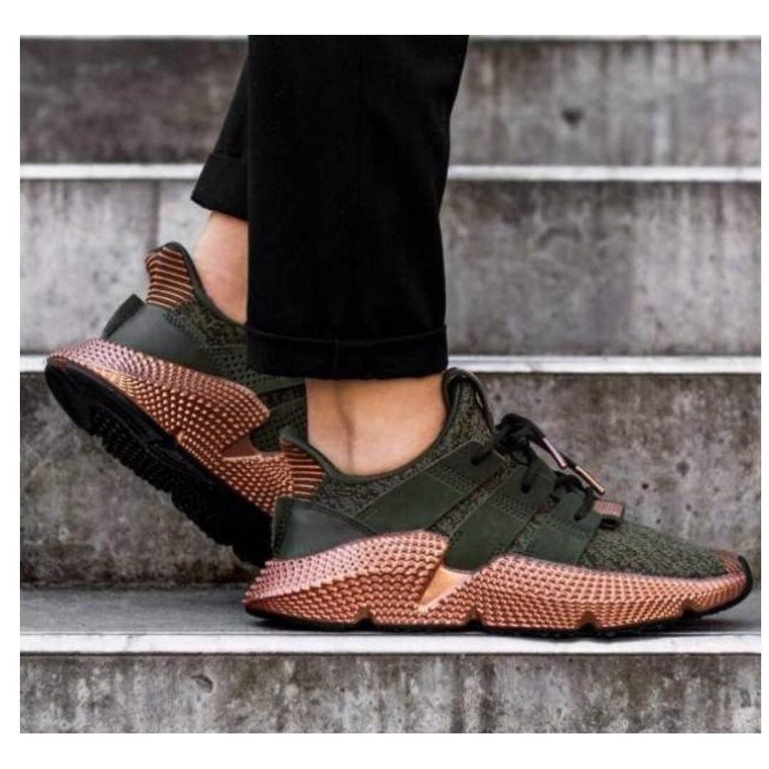 online store 5eb1e 9fd1a (PO) Adidas Womens Prophere Olive Metallic Copper, Women's Fashion, Shoes,  Sneakers on Carousell