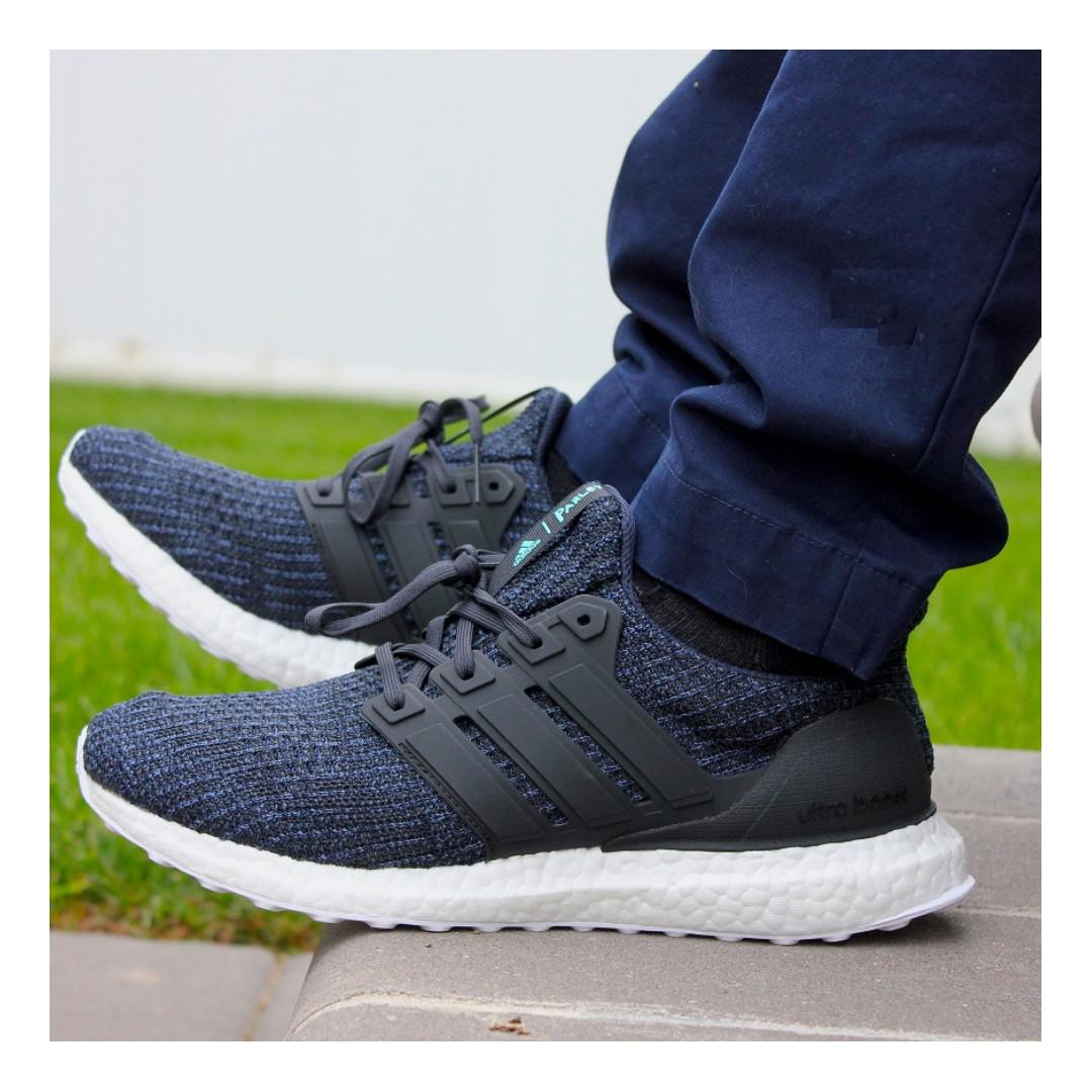 Dnevnik Tezej Lijep Adidas Ultra Boost Parley 4 0 Mens Running Shoes Grey 8 5 Myskey Online Com