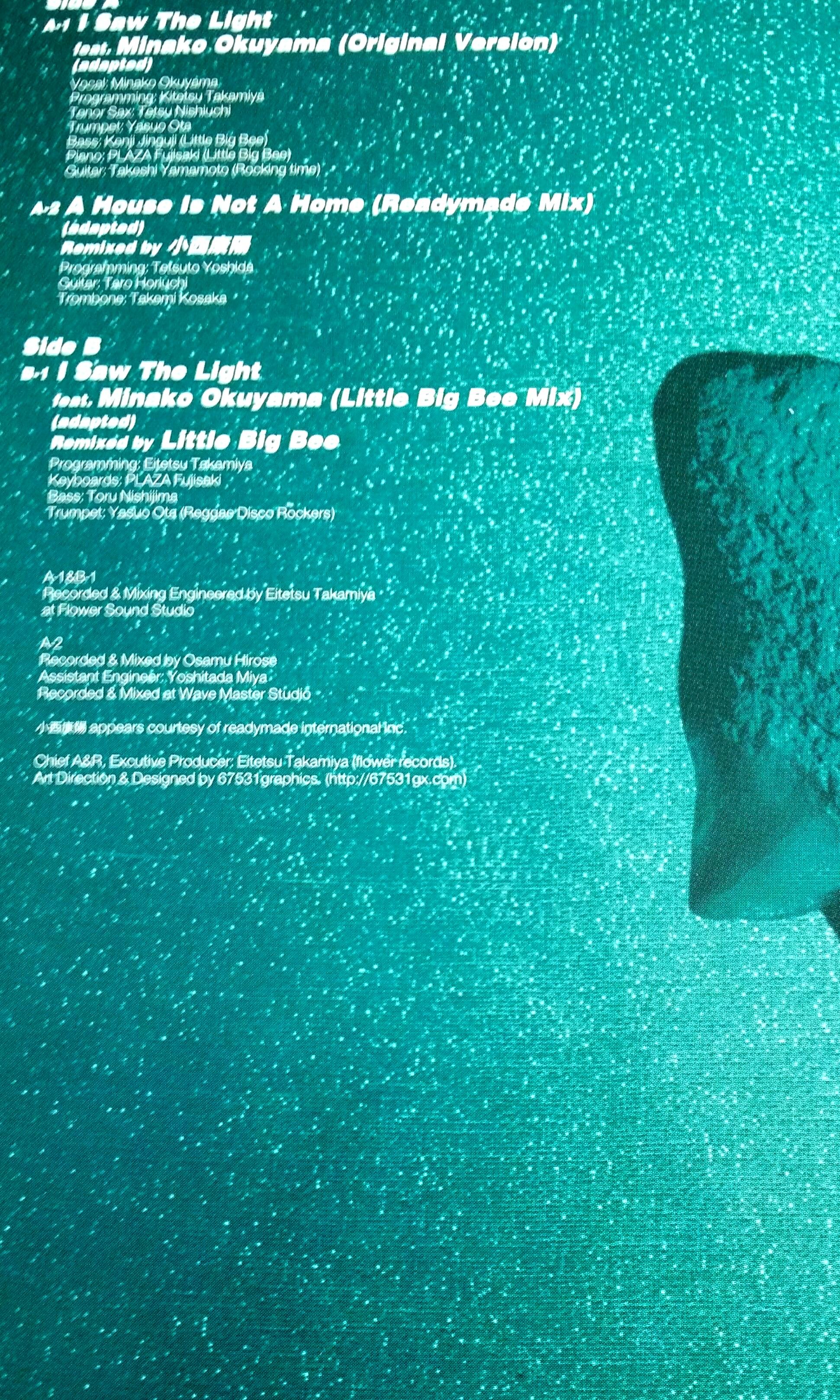 REGGAE DISCO ROCKERS ( Minako Okuyama ) i saw the light  ● RARE EARTH    part two ( buy 1 get 1 free ) Vinyl record