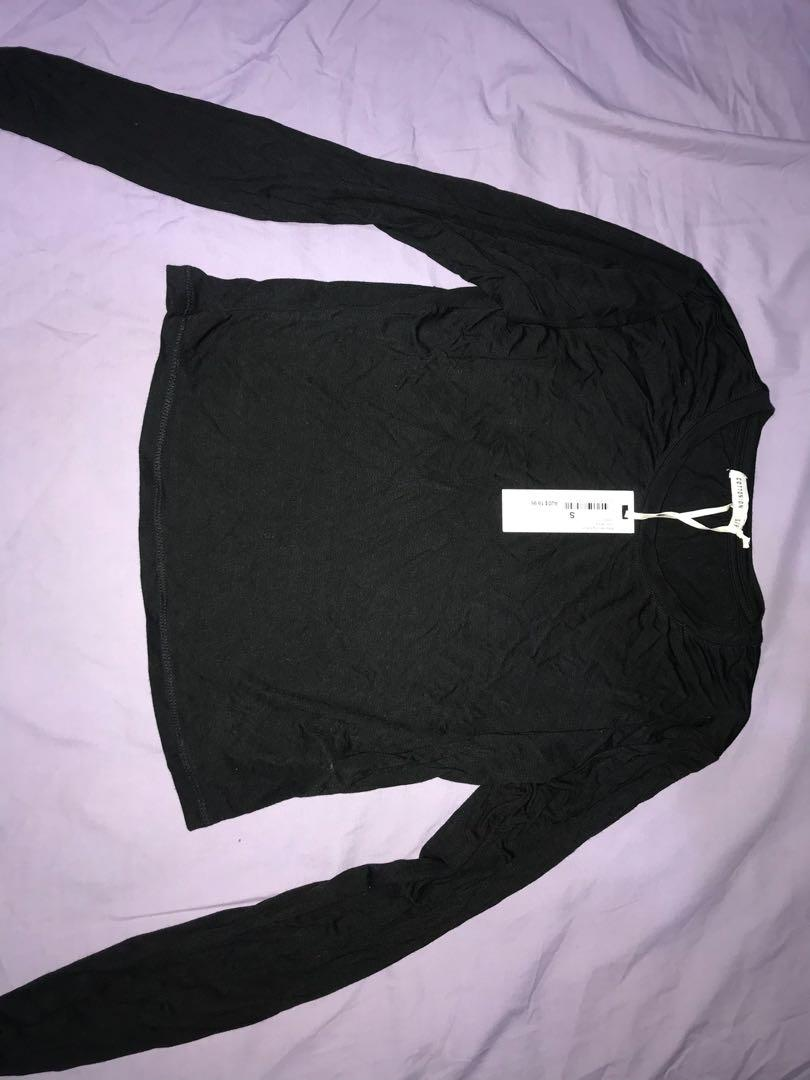 TWO for $25 cropped long sleeve