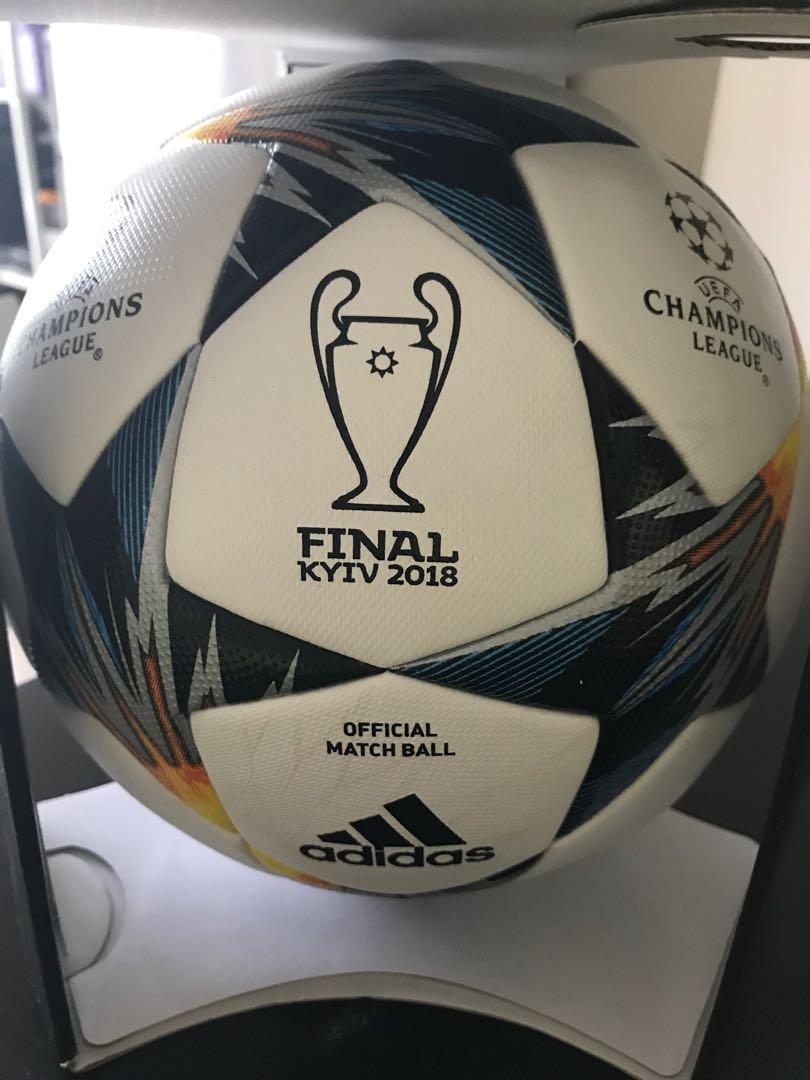 61ba183bf ADIDAS 2018 UEFA CHAMPIONS LEAGUE FINAL KIEV OFFICIAL MATCH BALL ...