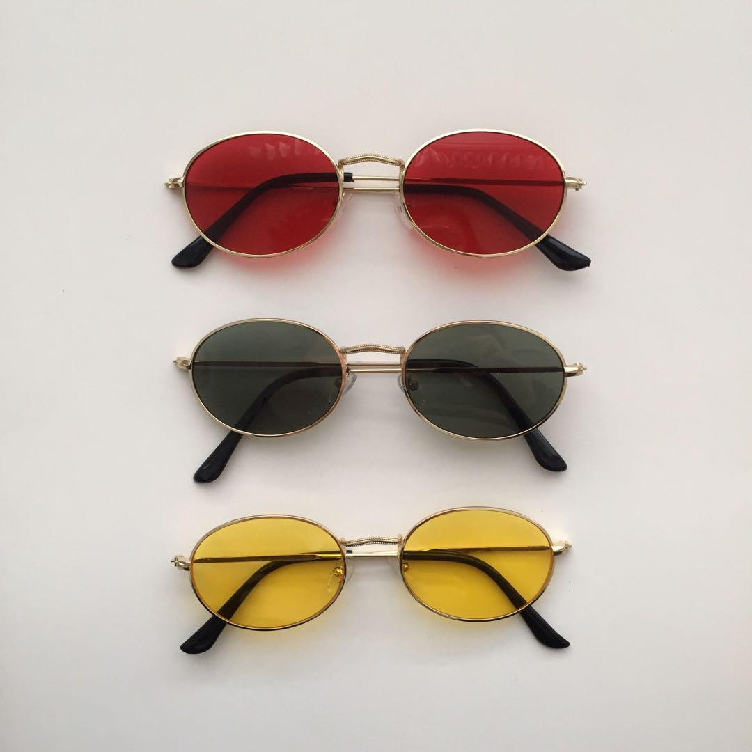 VINTAGE ROUNDED OVAL SUNNIES