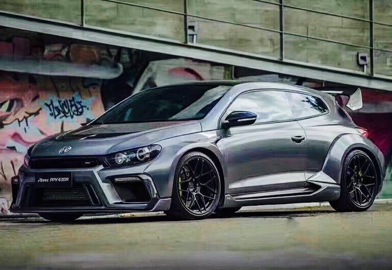 Vw Scirocco Aspec Style Wide Body Kit Car Accessories