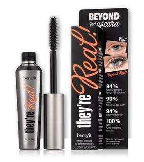 🚚 Benefit Mascara - they're real! lengthening mascara [BRAND NEW!]
