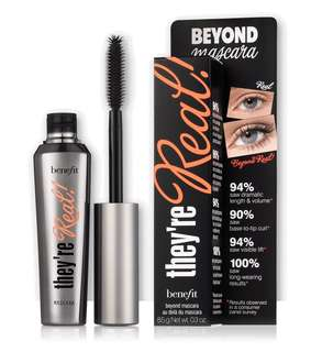 🚚 Benefit Mascara - they're real! lengthening mascara [BRAND NEW]
