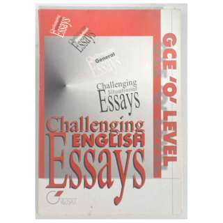 CGE 'O' LEVEL MODEL ESSAYS (400 Pages)