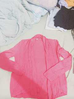 Cardigan Giordano pink