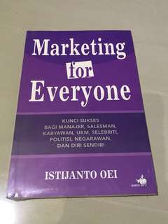 Marketing for everyone