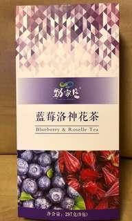 香港品牌「勁家庄」藍莓洛神花茶 Blueberry & Roselle Tea
