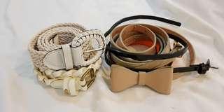 Mix Belts -Waist line 24-28inch