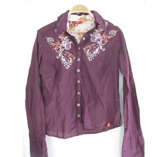 Esprit Embroidered Top