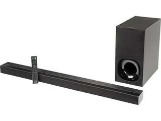 2.1ch Soundbar with Bluetooth HT-CT180
