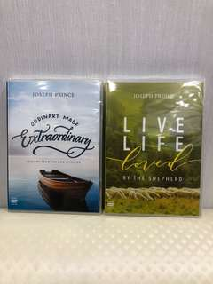 Joseph Prince DVDs - 2 DVD series