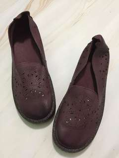 New! Leather Embroidery Flat