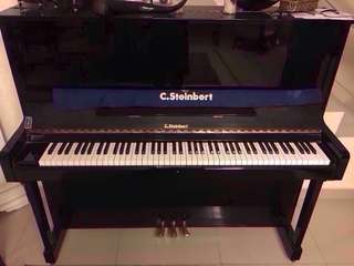 C.Steinbert upright piano (88 notes)