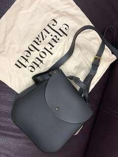Charlotte Elizabeth grey Bloomsbury bag (準王妃用過的牌子)(灰色手袋)