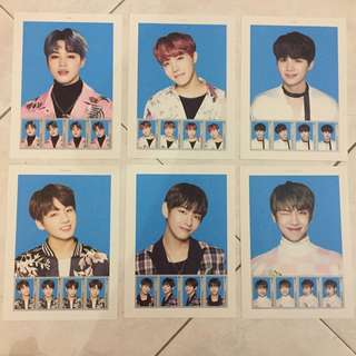 BTS The Wings Tour Stamp