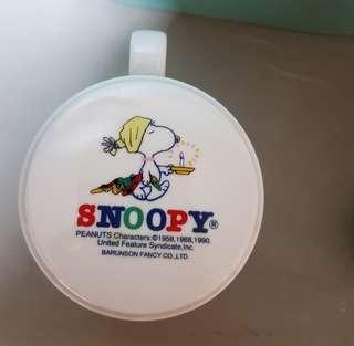 Snoopy & KFC Mugs with lids