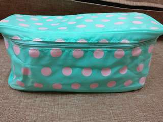 (New) Young Heart Cosmetic Pouch with inner detachable bag