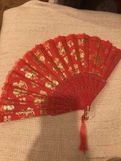 Red Fan For Rent After 11/11/18!