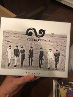 Infinite Be Back album (photos and booklet inside)